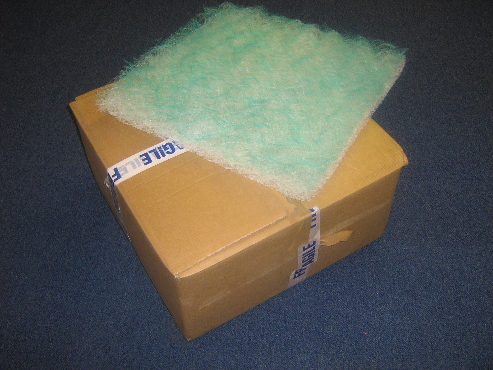 DISPOSABLE GREASE FILTER PADS for Extraction Canopy-Box 50 & GREASE FILTER PADS for Extraction Canopy-Box 50